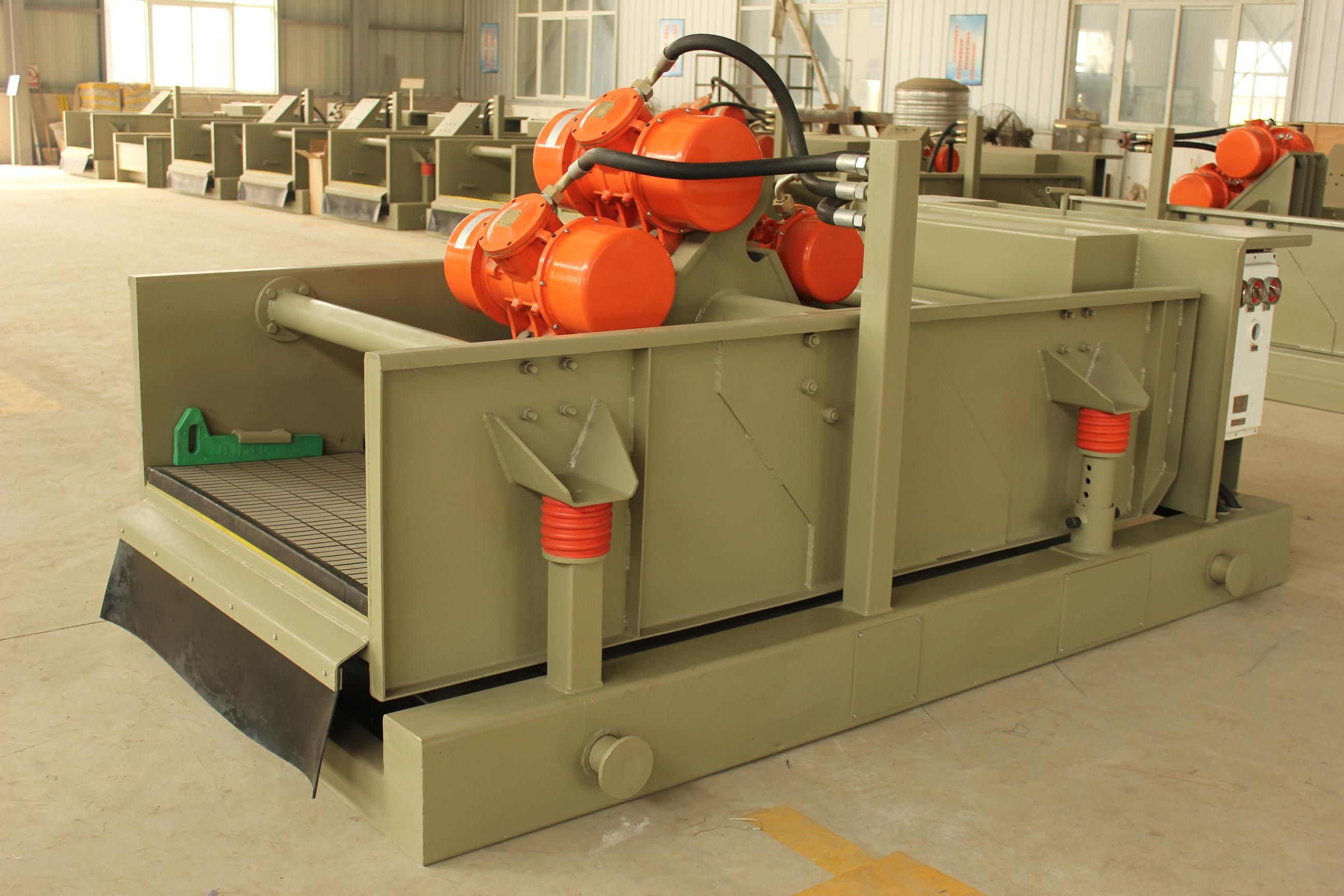 Straight-elliptical-type Drilling Fluid Shale Shaker